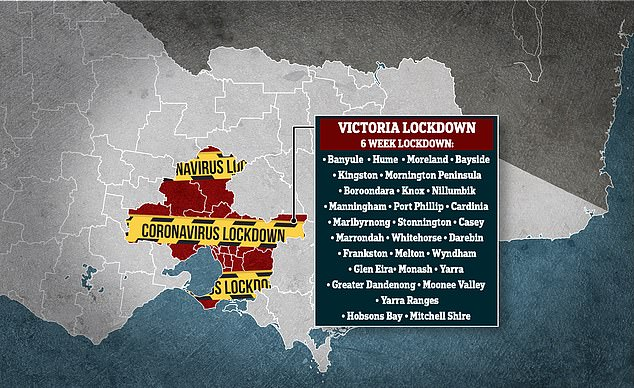 Metropolitan Melbourne and the Mitchell Shire will be thrust back into a six week lockdown as a second outbreak of COVID-19 ravages the state