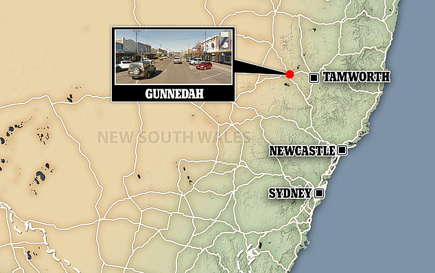 Gunnedah in northern New South Wales is more than 430km from Sydney and has a population of just 13,000