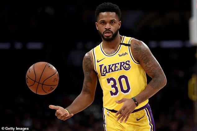 The 28-year-old had started the season with the LA Lakers before he was waived by them