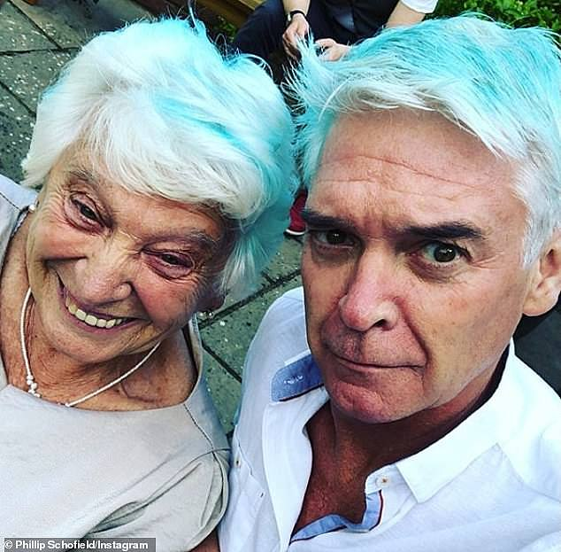 Difficult: the presenter also revealed that his mother Pat still struggles with loneliness, but that she `` surrounds herself with family '', when the locking allows it