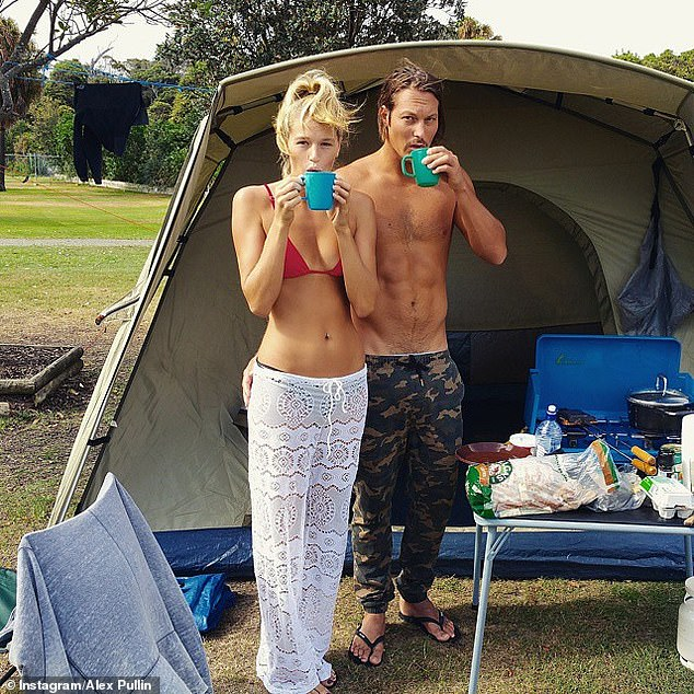 The couple were living on the Gold Coast along with their beloved Kelpie puppy, Rummi