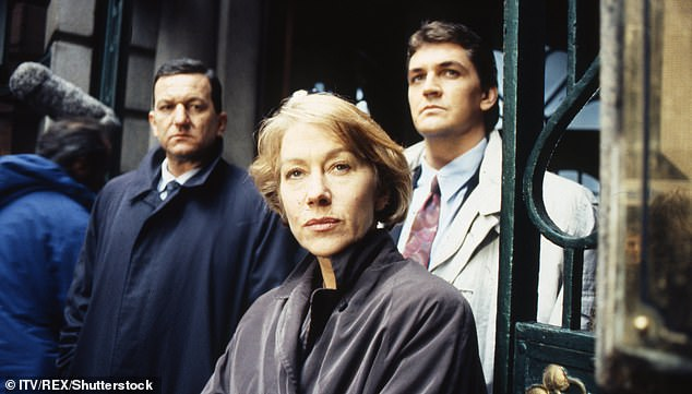Iconic role: John worked with the likes of Sam Mendes and Ken Loach during his career, but made his name in Prime Suspect as Mirren's boss in the force (pictured withCraig Fairbrass)