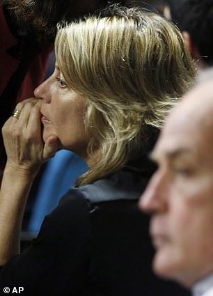 Leah Lynn Elder, mother of Finnegan Lee Elder at the opening of their son's trial in Rome