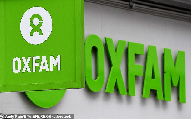 Humanitarian organisation Oxfam, pictured above (file photo) has warned that hunger as a result of the coronavirus crisis could result in more deaths worldwide than the virus itself as it closes borders and supply chains and prevents aid from reaching those in need