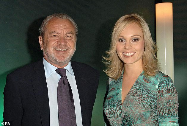 Early beginnings:Michelle shot to stardom after becoming Lord Alan Sugar's Apprentice in 2006 (pictured)