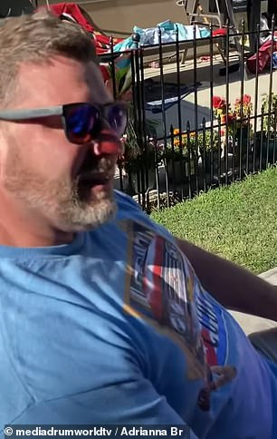 New day, new dawn: Colorblind father Dan Brogger broke down in tears as he saw in color for the first time thanks to a pair of special glasses