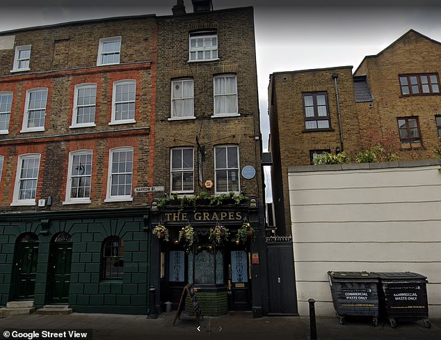 Lord of the Rings actor Sir Ian co-owns The Grapes boozer, along with businessman Evgeny Lebedev and director Sean Mathias