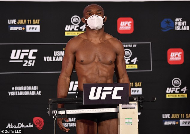 Welterweight champion, Kamaru Usman, looked in brilliant condition ahead of Masvidal fight