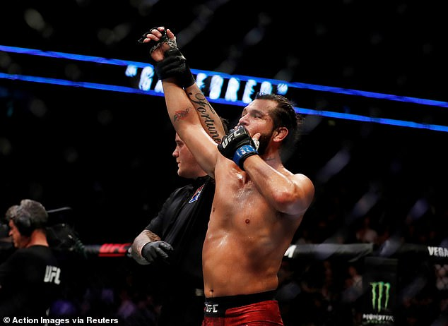 Masvidal's first title fight comes on the back of a three-fight knockout streak at 170lbs