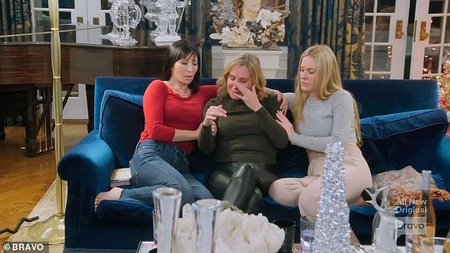 Drama: Sonja had an emotional confrontation with Luann