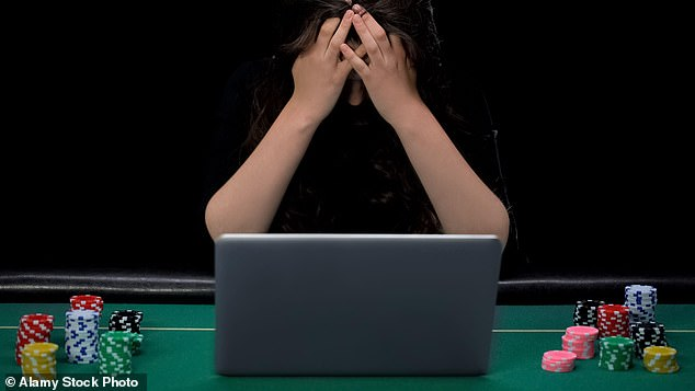 I am increasingly worried that during lockdown many more will have fallen victim to online gambling, writes Dr Max Pemberton (file photo)