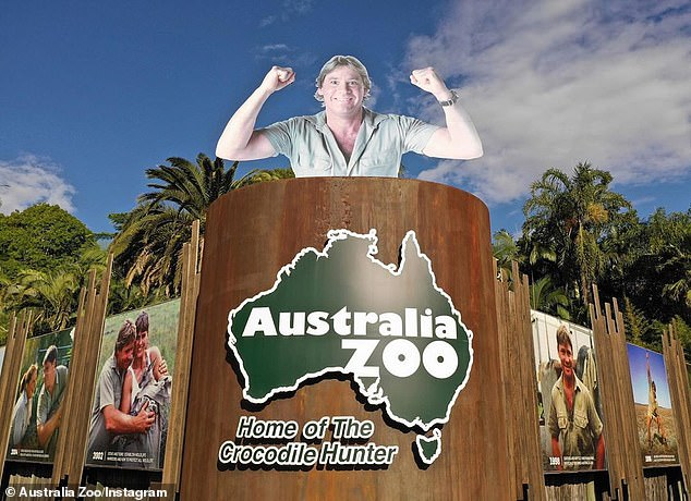 Back in business: Australia Zoo reopened on June 12, with social distancing measures in place. Terri said the reopening was 'unexpectedly emotional'