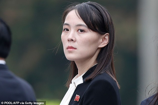 In a recent statement Kim Yo Jongreiterated Pyongyang's objections to what it sees as hostile and self-serving policies of the United States