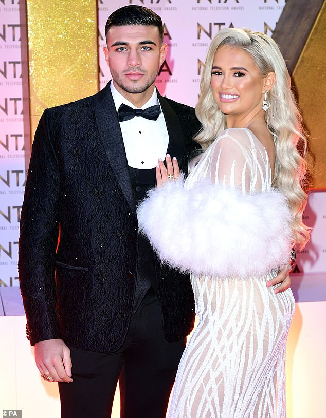 Wow:Molly-Mae, who was already a successful influencer before Love Island, has also secured several huge deals since the reality series with a £500KPrettyLittleThing gig (pictured in January)