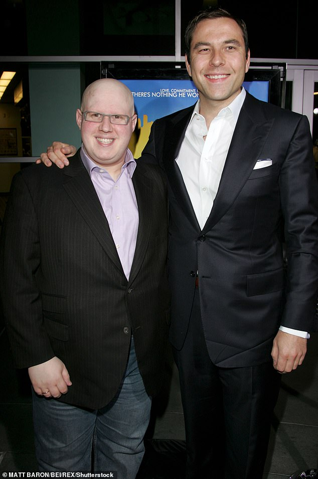 Claim: Little Britain stars David Walliams and Matt Lucas are allegedly keen to reboot their controversial show (pictured in 2008)