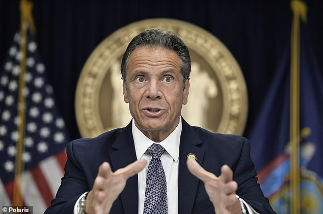 Governor Andrew Cuomo announced Saturday thatNew York has reached its lowest level of hospitalizations and its lowest three-day average death toll since mid-March