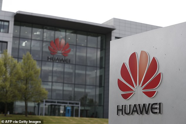 Huawei executives held last-ditch talks yesterday with officials from the Department for Digital, Culture, Media and Sport and the National Cyber Security Centre (NCSC) in the hope of watering down the plans. One of the company's offices is pictured above in Reading