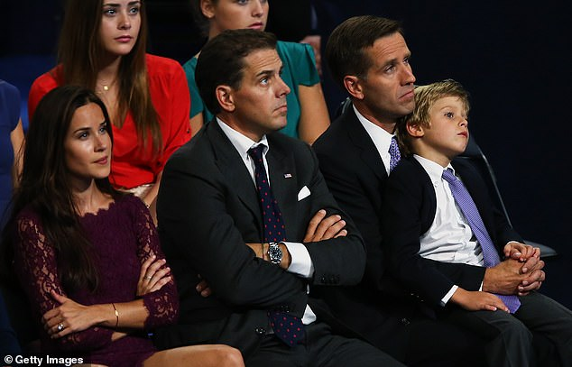 Ashley Biden is the youngest of three siblings. She is the only one born to the vice president and his second wife, Jill.Her two half-brothers are Beau Biden and Hunter Biden, 50. From left: Ashley Biden, Hunter Biden, and Beau Biden, who at the time was attorney general of Delaware. They are pictured in September 2012