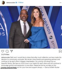 Darius Rucker and Wife Beth Leonard to Split After 20 Years of Marriage