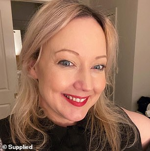 An 'avid bargain hunter' and business owner has revealed how she transformed the kitchen in her rental property for under $1,000 (Nicole Herrick pictured)