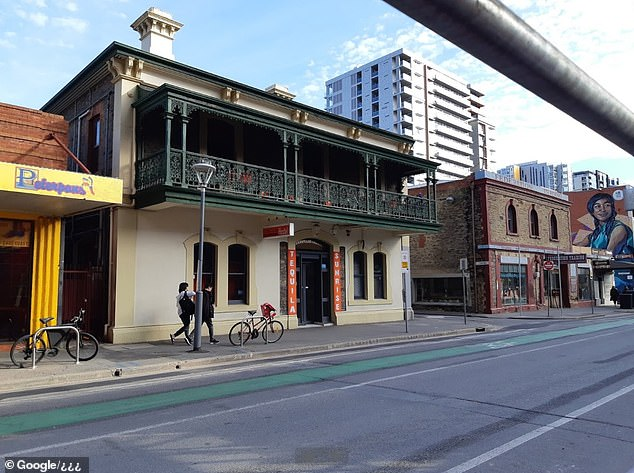 The Tequila Sunrise hostel in Adelaide (pictured) was fined $5,060 for a coronavirus breach