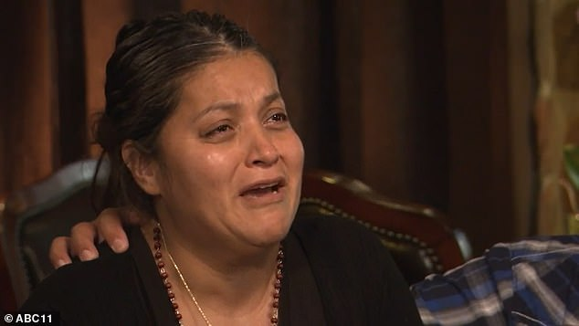 Vanessa Guillen's mother, Gloria (pictured), has previously slammed Fort Hood officials as being 'clowns in a circus' who lied to her. She has demanded Congress investigate the base