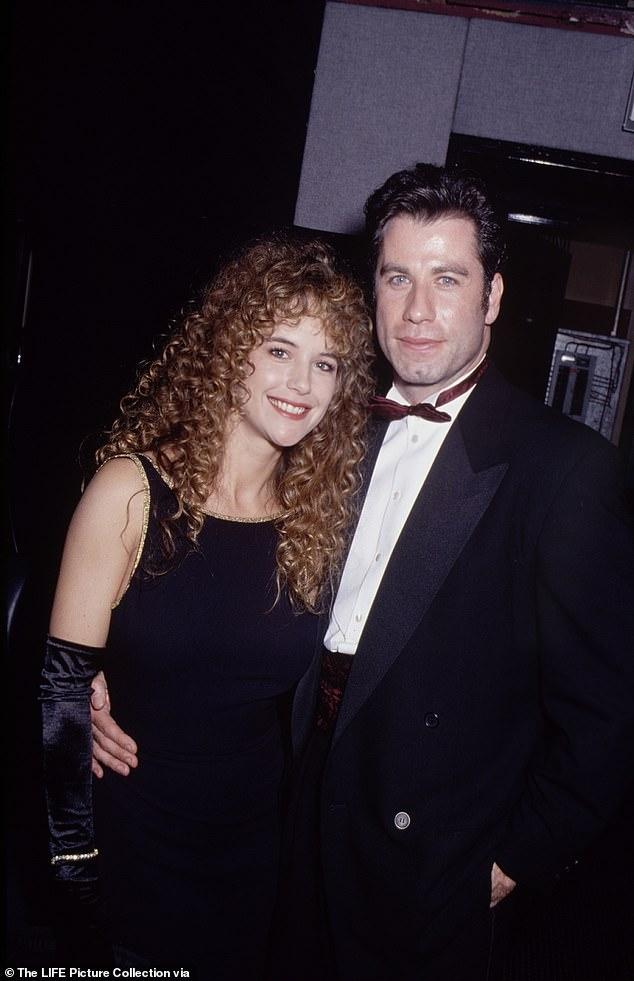 Preston got engaged to Travolta in 1991 in Switzerland.  The couple got married in September