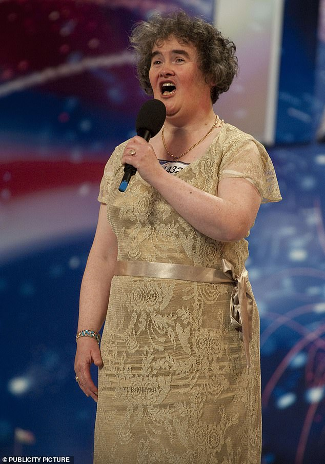 Susan Boyle's audition on Britain's Got Talent was named the second best TV moment