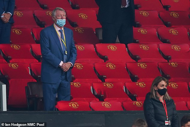 78-year-old man was photographed wearing his face mask incorrectly while watching the game