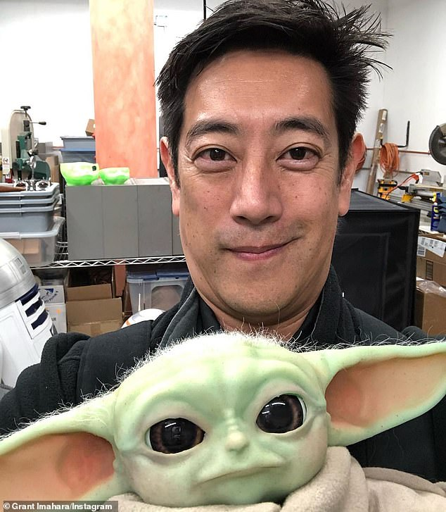 'Universally cute': in March, he went viral for building an animatronic Baby Yoda based on Star Wars: The Mandalorian