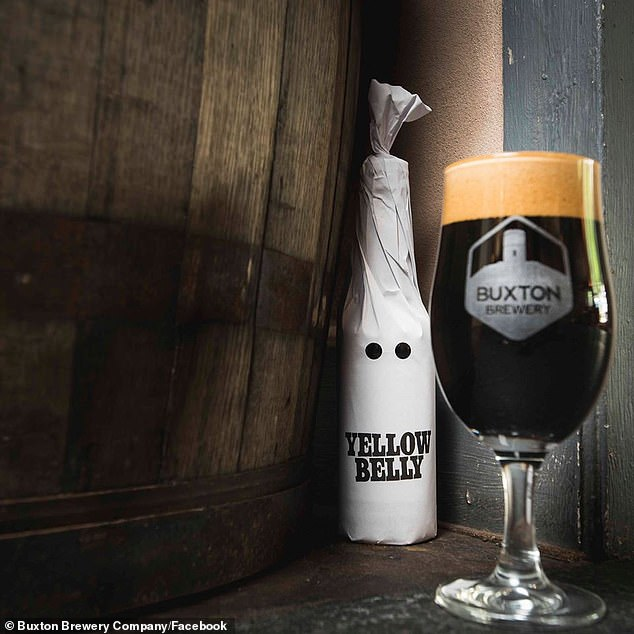 Yellow Belly,brewed in a collaboration between Buxton Brewery in the UK and Sweden's Omnipollo, is intended to denounce racists as cowards, or 'yellow bellies'