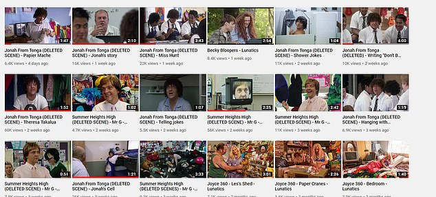 Chris Lilleydefiantly uploaded deleted scenes to his YouTube channel over the past three weeks