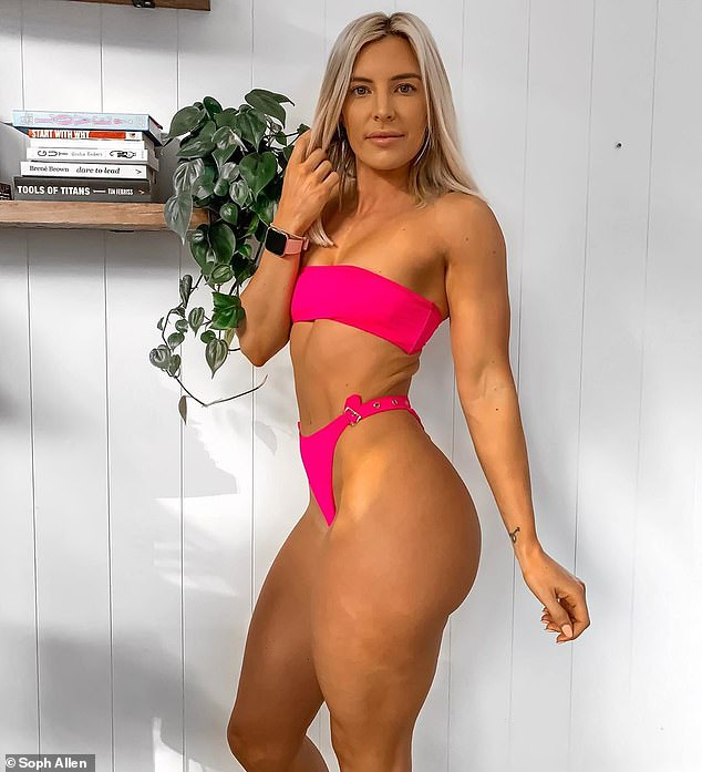 An Australian personal trainer has revealed the 'fat loss basics' everyone trying to lose weight needs to know (Sophie Allen pictured)