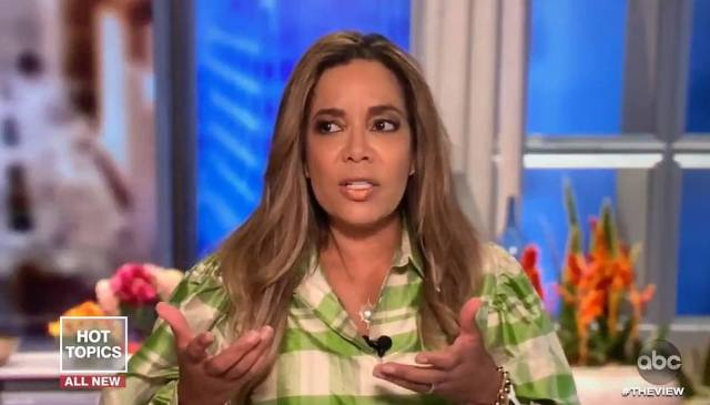 The View host Sunny Hostin said she was shocked to see anti-Semitism in black people since Jewish people have been allies in their fight for civil rights