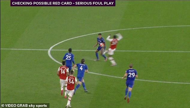 Alexander-Arnold split looks like that made by Eddie Nketiah against Leicester last week