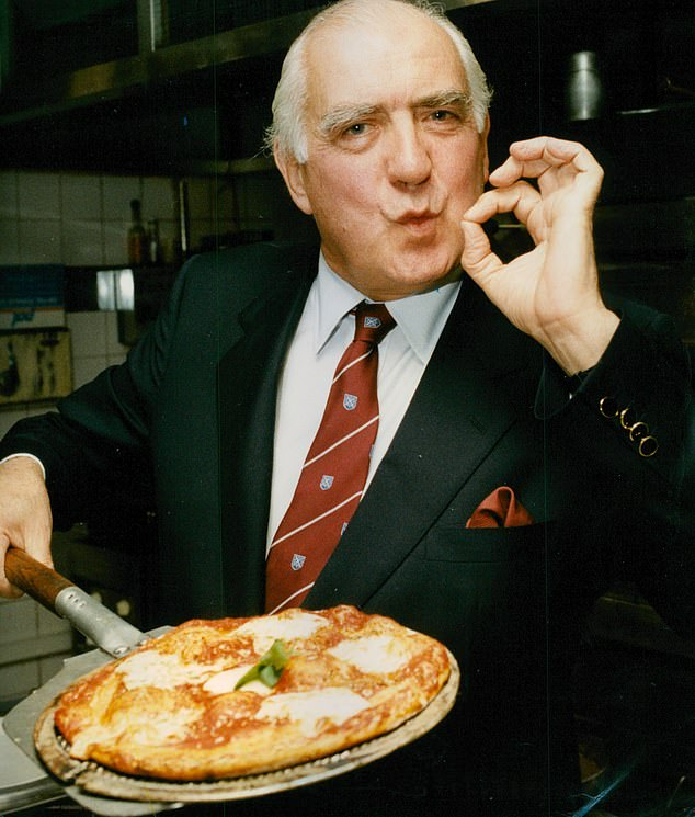 Peter Boizot, founder of Pizza Express. The branches are facing closure as part of a financial restructuring of the business, potentially affecting hundreds of jobs