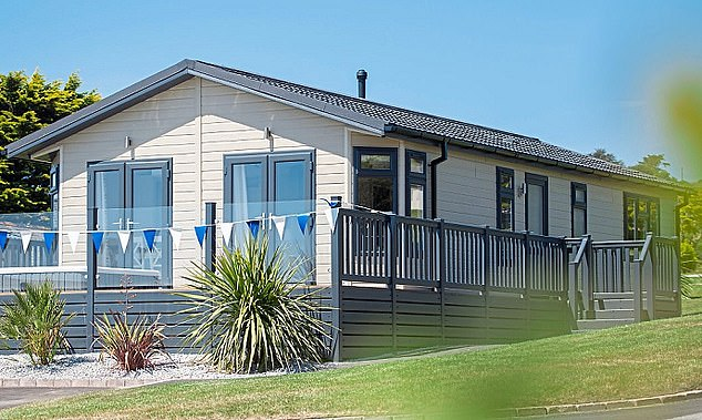 Good investment: Bookings at holiday parks, such as Praa Sands in Cornwall, are booming