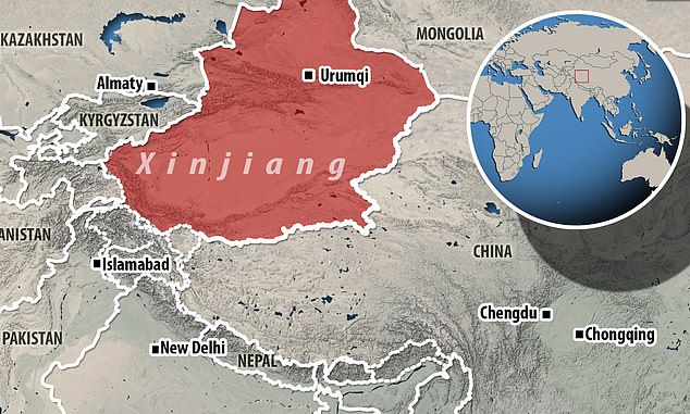 Urumqi, a city of 3.5 million in the Xinjiang Autonomous Region (western China), registered five new confirmed cases today after registering its first COVID-19 infection in five months Thursday