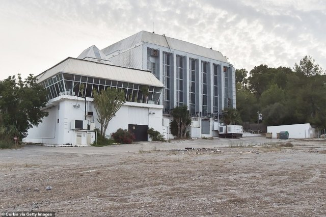 Ibiza's Privilege night club was also seen totally deserted as it remains closed by order of the regional government