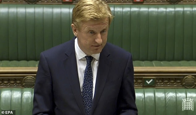Culture Secretary Oliver Dowden announced all Huawei equipment will have to be stripped from the UK's 5G network by 2027