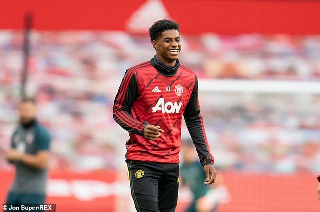 His brothers Dwaine Maynard and Dane Rashford will continue to manage his football career