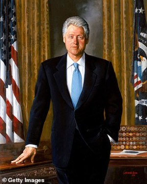 The White House is bringing back portraits of Bush and Clinton to a prominent spot after Trump hid them