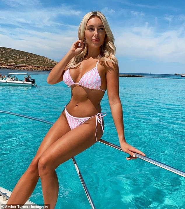 Wow!  Amber's birthday party comes after she shared a sizzling bikini snapshot on her Instagram Saturday of her recent Ibiza getaway