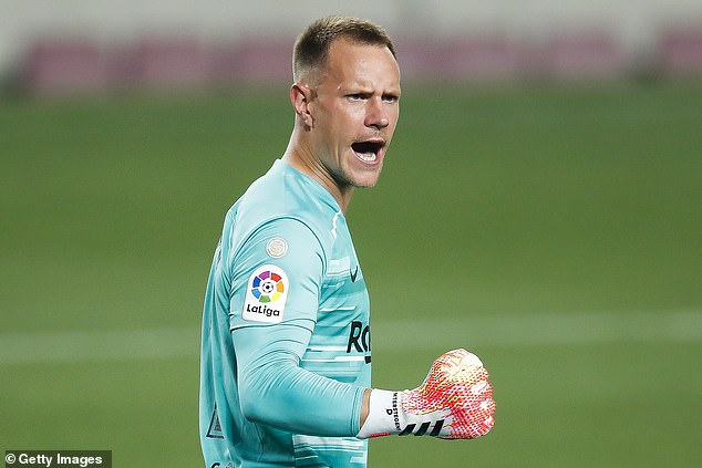 Barca No 1 Marc-Andre ter Stegen finished in first place in Marca's rankings after a fine season