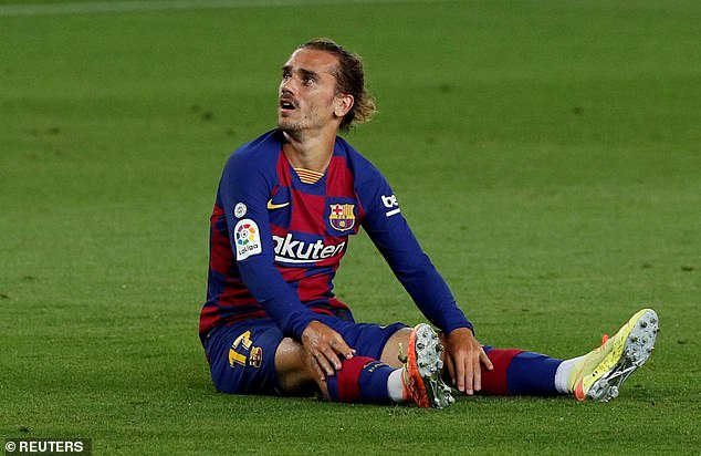 Antoine Griezmann was ranked 18th of Barca's 22-man squad after disastrous debut campaign