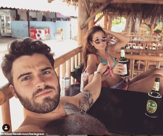 Candid: She recently told The Sun : 'Sadly Greg and I have decided to separate. We remain friends and wish the best for each other in the future'