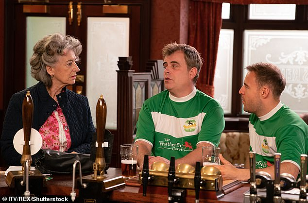 Coronation Street had the highest alcohol content, appearing in more than a third of its clips