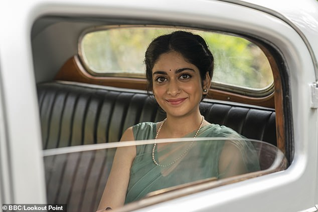 Tanya Maniktala couldn¿t help acting the starstruck fan on setwhen she was introduced to Indian film star Namit Dasin the BBC¿s new drama 'A Suitable Boy'