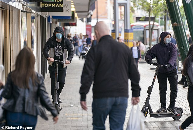 Youths flouted the new laws within hours of the powerful machines arriving in Middlesbrough, leading critics to accuse them of being 'open to abuse'