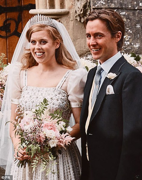 Princess Beatrice was given the ultimate honour for her low-key wedding day to Italian property developer Edo Mapelli Mozzi on Friday